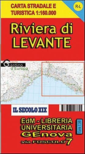 RL Riviera di Levante. Carte stradale della Riviera ligure di Levante