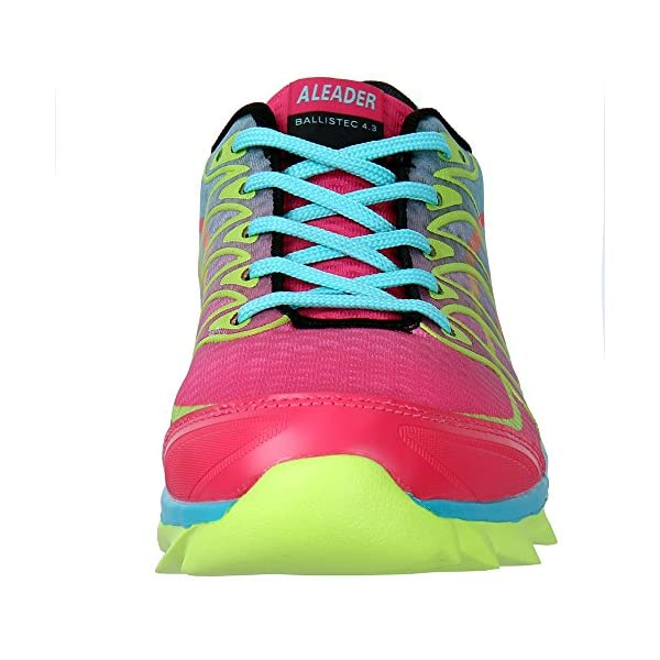 ALEADER Womens Summer Breathable Walking Trainers Outdoor Running Shoes Gym Training