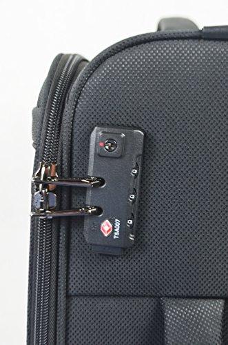 TRAVELMAX TRIBECA Trolley 77cm, (schwarz) schwarz