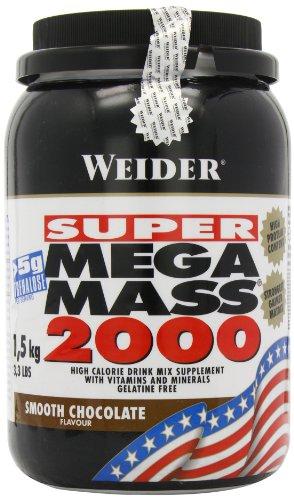 Weider Mega Mass 2000 Chocolate - 1500 gr