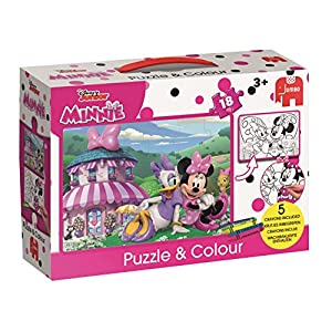 Jumbo Disney 19670 Puzzle Puzzle - Rompecabezas (Puzzle Rompecabezas, Dibujos, Preescolar, Chica, 3 año(s), Cartón)