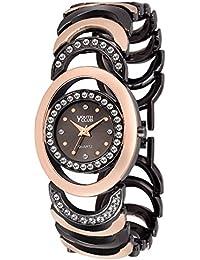 Youth Club K-01BKTT New Studded Black Brwon Bracelet For Girls