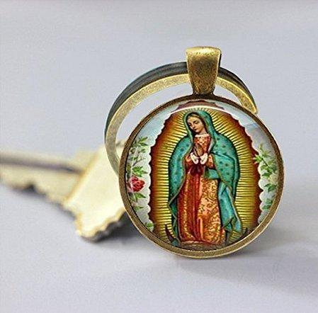 Llavero diseño Nuestra Señora Guadalupe, llavero
