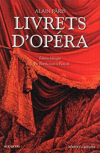 Livrets d'opéra - Tome 1 (01)
