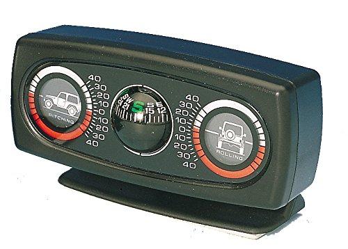 Neigungsmesser und Steigungsmesser inklusive Kompass. -