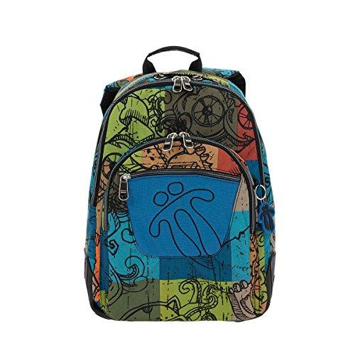 Imagen de totto ma04eco002 1710n 7t9 crayola  tipo casual, 44 cm, 20 litros, multicolor