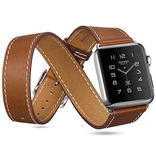 hoco-orologio-stile-hermes-apple-watch-confezione-da-3-braccialetti-in-pelle-marrone-apple-watch-38m