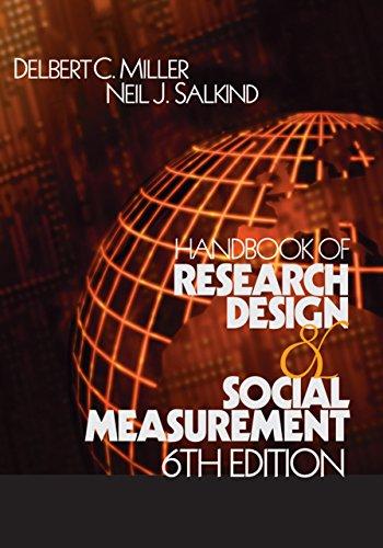 Handbook of Research Design and Social Measurement (English Edition) por Delbert C. Miller