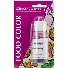 Lorann Oils Liquid Food Color 1oz-Strawberry