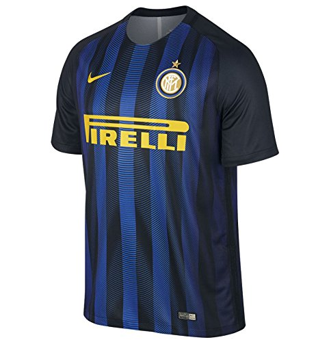 Nike SS Home Reply Jersey Black/Royal Blue/Opti Yellow 16/17 Inter
