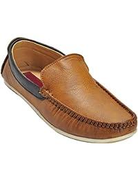 Kolapuri Centre Tan Color Casual Slip On Shoe For Men's