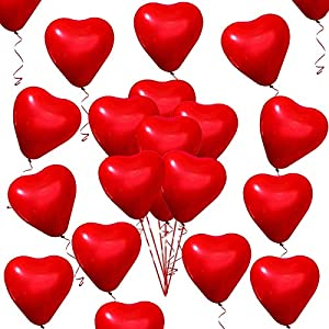 50 Piezas Amor Globos de