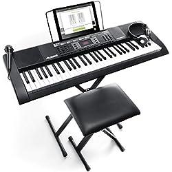 Teclado Electrónico Piano Digital - Alesis Melody 61 MKII