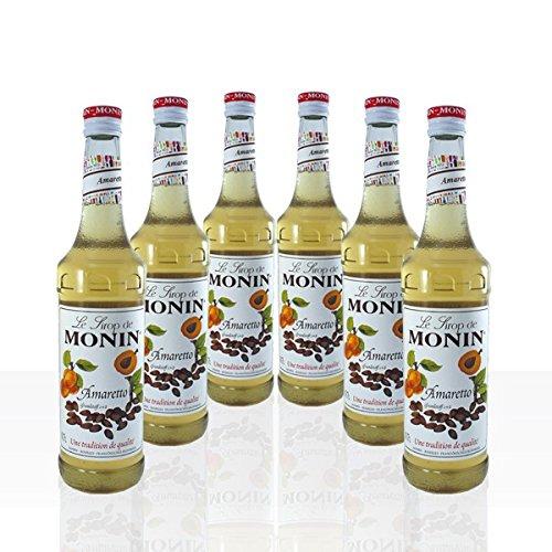 Monin Sirup Amaretto 6 x 0,7l