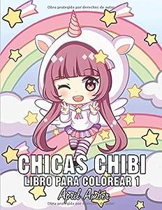 Chicas Chibi Libro Para Colorear