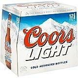 Coors Light Lager, 12 x 330ml