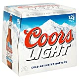 Product Image of Coors Light Lager, 12x330ml