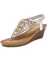 Sandali grigi per donna Minetom