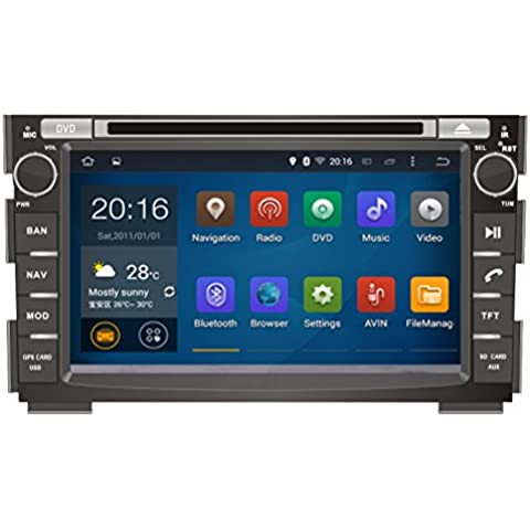 Generic 7 pulgadas 1024 * 600 Android 4,4 Quad Core coche Multimedia Radio para KIA CEED 2006 2007 2008 2009 2010 2011 2012 coche Multimedia reproductor de DVD GPS navegación estéreo 16 GB coche Media Center