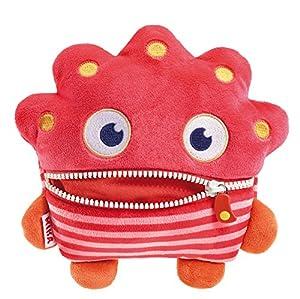 Schmidt Spiele Mika Monstruo Felpa Rosa, Rojo - Juguetes de Peluche (Monstruo, Rosa, Rojo, Felpa, Niño/niña, 68 g, 1 Pieza(s))