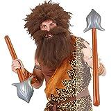 Lanza hinchable Pica 86 cm Arma de juguete Jabalina medieval Complemento guerrero gladiador Accesorio disfraz indio