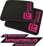 ROCKITZ Pro Serie Kraftsport Grip Pads - maximaler Halt & Polsterung + antibakteriell + verbesserte...