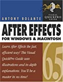 After Effects 6.5 for Windows and Macintosh: Visual QuickPro Guide (Visual QuickProject Guides)