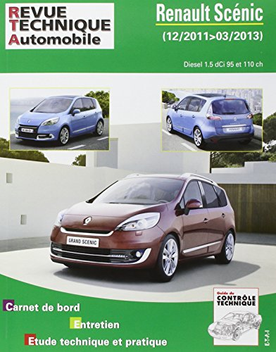 revue technique b788 Renault Scenic III ph.2 2011-12->