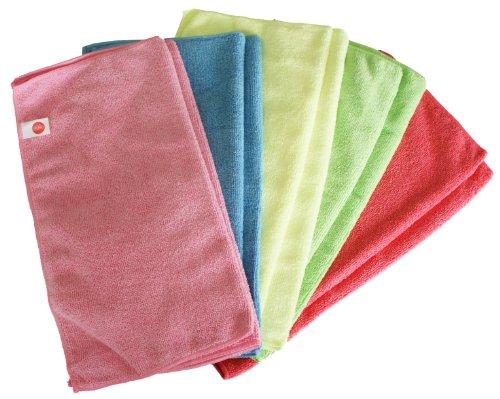 chiffons-en-microfibre-harbour-housewares-lot-de-10-grand-format-40cm-x-40cm-rose-bleu-jaune-vert-ro