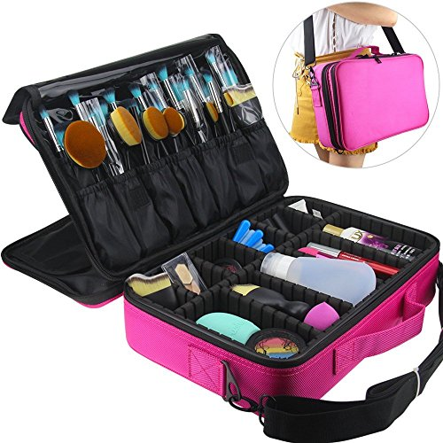 Travelmall Cosmético Organizador-Profesional Maquillaje