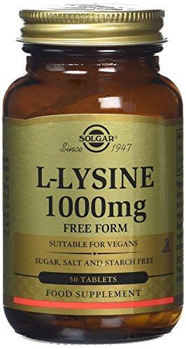 Solgar L-Lisina Comprimidos de 1000 mg - Envase de 50