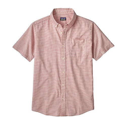 Patagonia M 'S LW Bluffside Shirt, Herren S jib stripe static red (rot) -