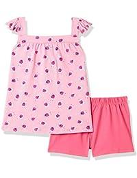 Mothercare Baby Girls' Regular Fit Pyjama Top (Pack of 2)