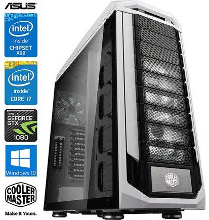 SNOGARD Ultra Gaming pc | i7-8700K | 32GB DDR4 | 4TB+256GB M2 | 2 x 8GB GTX1080 | Windows 10 Professional | Blu-ray/CD/DVD-Rewriter | high power gamer computer