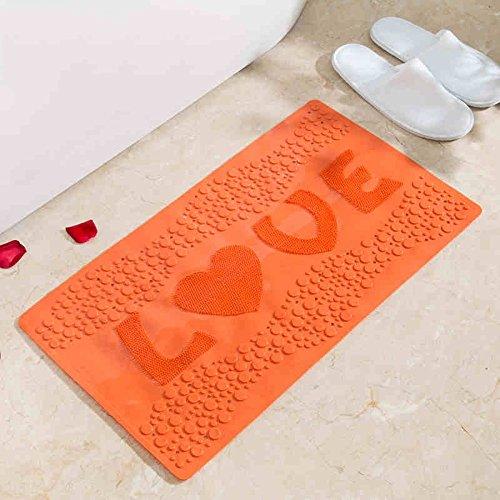 Sicherheits- und Umweltschutzmaterial - Umweltschutz PVC Mit Saugnapf Badezimmer Anti-Rutsch-Matte Massage-Auflagen - mit Saugnäpfen Badmatten (Farbe : 2)