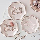 Partyteller Team Bride 8er Set