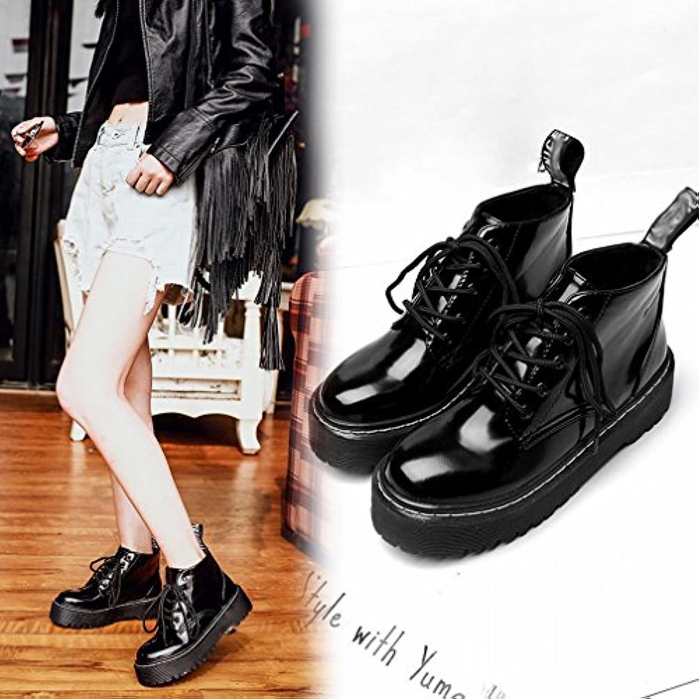 l'automne et l'hiver martin bottes western autour de la la la fin d'épaisses bottes et chaussures chaudes b077zyf3w5 ca ch emire des parents fa8ade