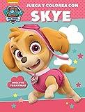 Juega y colorea con Skye (Paw Patrol | Patrulla Canina. Actividades): (Incluye pegatinas)