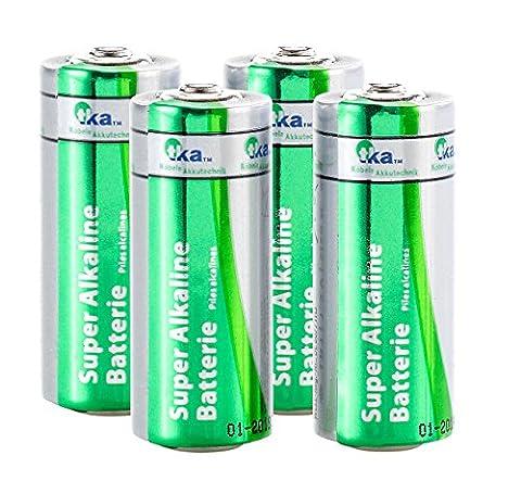 tka Köbele Akkutechnik Batterie LR1 Size N 1,5V, 4er Set (Lr1 Akku)