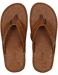 Kraasa 401 Series Men's Synthetic Leather Slippers