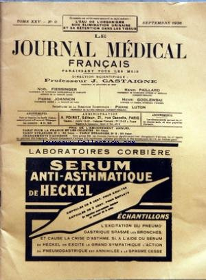 journal-medical-francais-le-no-9-du-01-09-1936
