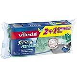 Vileda Glitzi Pur Active Topf- und Geschirrreiniger, 24er Vorratspack (8 x 3 Stück)