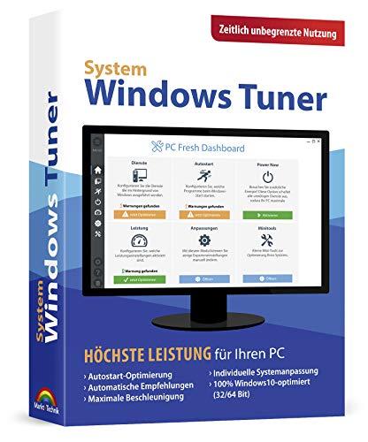 Windows Tuner - Zeitlich unbegrenzte Nutzung Windows 10 / 8.1 / 7 / Vista