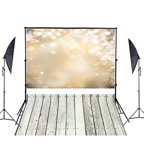 YCNET 2m x 1.5m Holz Boden Fotohintergrund Fotografie Stoffhintergrund Hintergrund Fotostudio