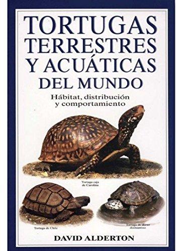 TORTUGAS TERRESTRES Y AC.MUNDO (GUIAS DEL NATURALISTA-REPTILES -ANFIBIOS-TERRARIOS) por DAVID ALDERTON