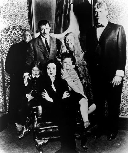 Posters Addams Familie tv Plakat bw 61cm x 91cm 24inx36in