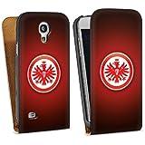 Samsung Galaxy S4 mini Tasche Schutz Hülle Walletcase Bookstyle Eintracht Frankfurt Fanartikel SGE Bundesliga