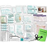 Komplett-Set Erste-Hilfe DIN 13169 EN 13 169 für Betriebe mit Verbandbuch inkl. Alkoholtupfer + Pinzette preisvergleich bei billige-tabletten.eu