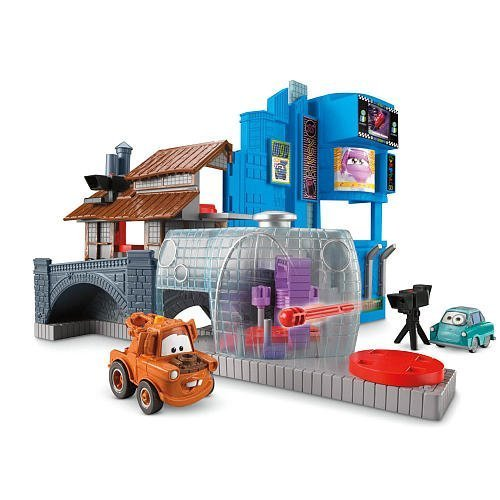 Fisher Cars Price Disney (Disney / Pixar CARS 2 Movie Imaginext Exclusive Race Around The World Tokyo Villain Playset by Disney)