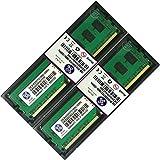4GB 2x 2GB 2Rx8PC3–10600U 1333MHz Desktop mémoire RAM par Xum